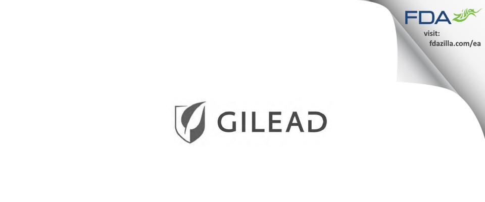 Gilead Sciences FDA inspection 483 Oct 2013