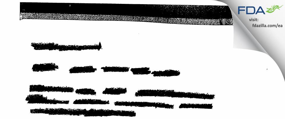 GlaxoSmithKline FDA inspection 483 Apr 2003