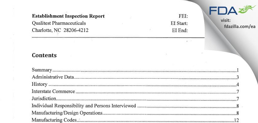 Generics Bidco II d/b/a Prinston Labs FDA inspection 483 Feb 2014