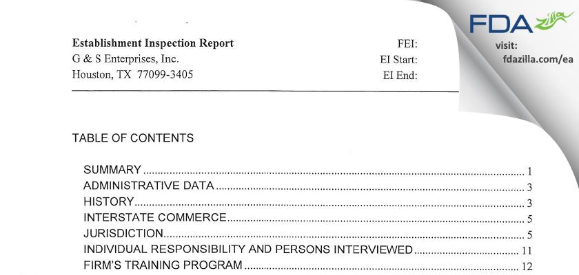 Woodfield Pharmaceutical FDA inspection 483 Jan 2012
