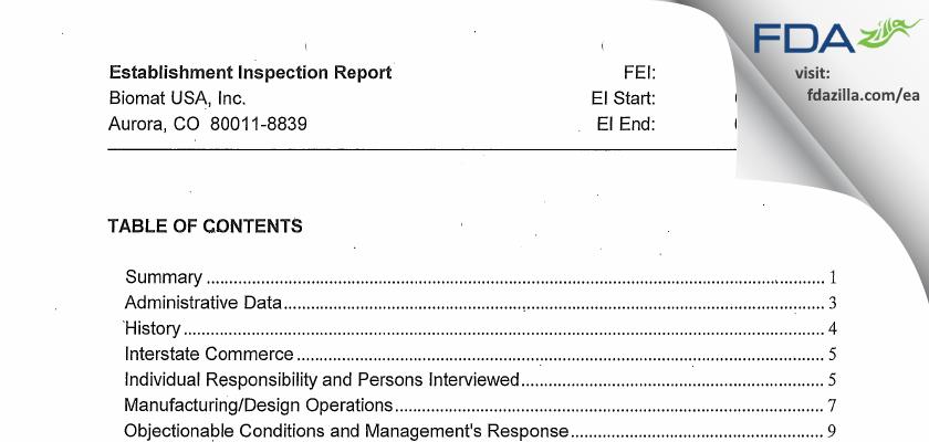 Grifols FDA inspection 483 Feb 2013