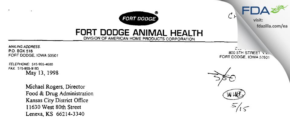 Boehringer Ingelheim Vetmedica FDA inspection 483 May 2001
