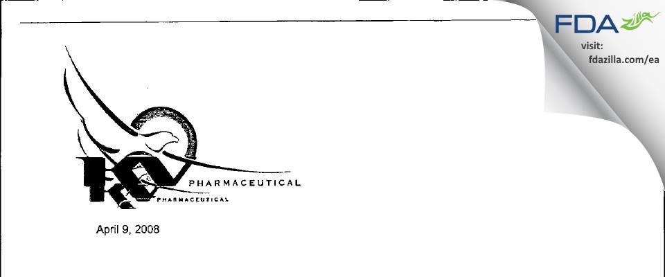 Nesher Pharmaceuticals (USA) FDA inspection 483 Mar 2008