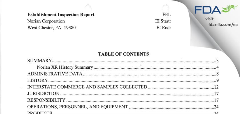 Synthes USA FDA inspection 483 Jun 2004