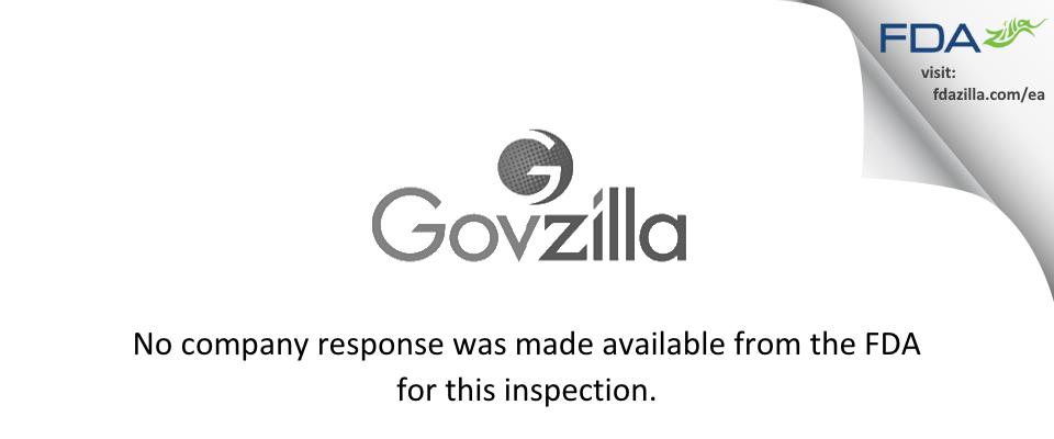 PCAS FDA inspection 483 Dec 2001