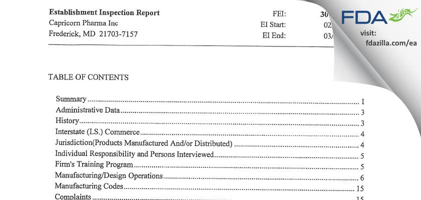 Izeen Pharma FDA inspection 483 Mar 2013