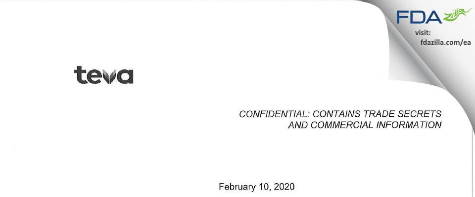 Actavis Labs FL FDA inspection 483 Jan 2020