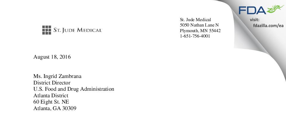Abbott Labs FDA inspection 483 Jul 2016