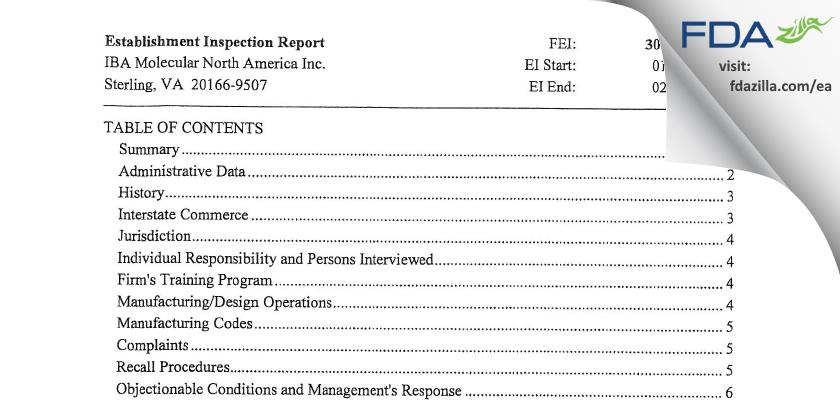 Sofie Co dba Sofie FDA inspection 483 Feb 2013