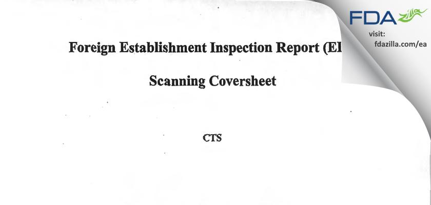 Vetter Pharma-Fertigung & KG FDA inspection 483 Sep 2013