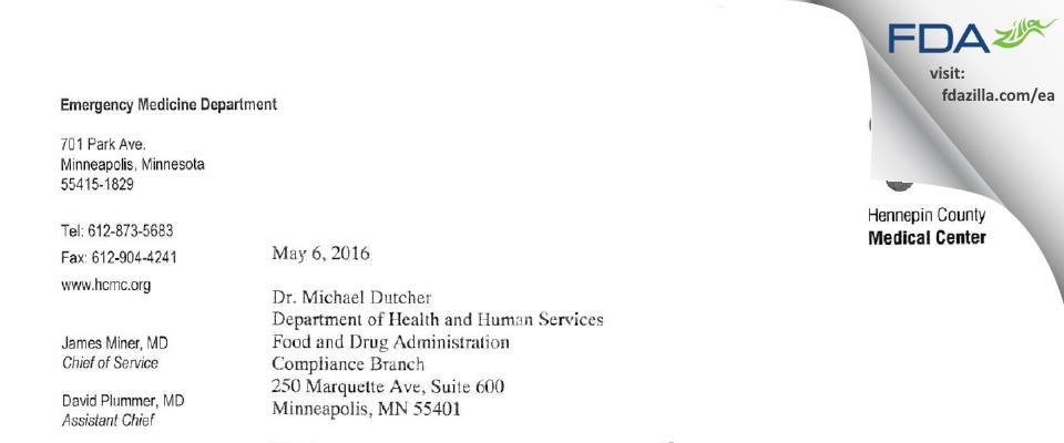 Brian E. Driver, MD, Sponsor/Investigator FDA inspection 483 Apr 2016
